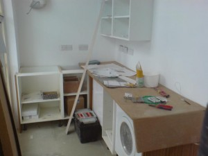 Templating Kitchen Worktops