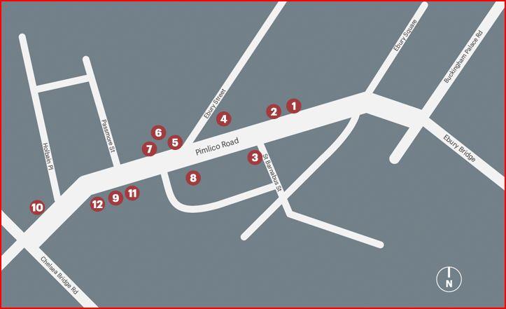 Pimlico Road Shops